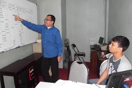 Acccounting Private. (Wishnu) Perserta dari Sawangan - Depok