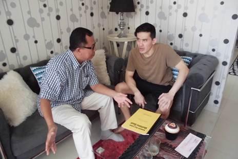 Accounting Private, Bp Rizky Andri, Peserta dari Perumahan Delatinos, Cluster Bahamas Resort- BSD - Tangerang Selatan
