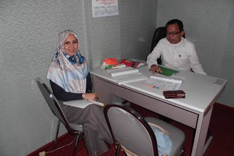 Accounting Private, Ibu Ani, Peserta dari Bintaro