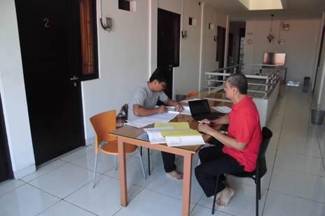 Accounting Private untuk Pegawai, Bp Dewo, Peserta dari Lebak Bulus - Jakarta Selatan