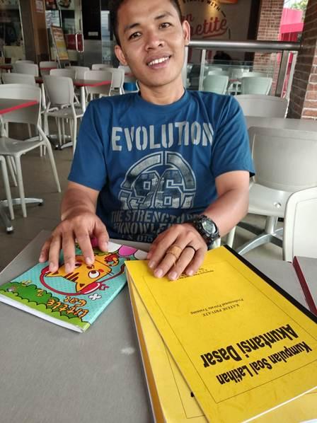 Accounting Private untuk Pegawai, Sdr Bayu, Peserta dari  Jakarta Selatan