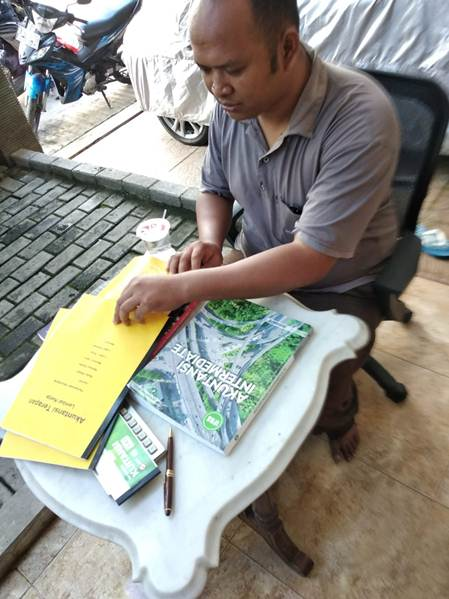 Accounting Private untuk Pegawai, Sdr Riki, Peserta dari Jakarta Selatan